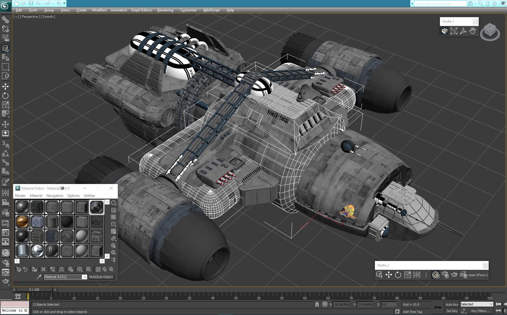 Wolfe: 3D